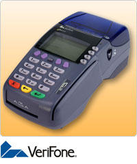 Verifone 3750 credit card terminal