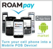 1stnat.roampay side1 Mobile Credit Card Processing   Merchant Use Growing