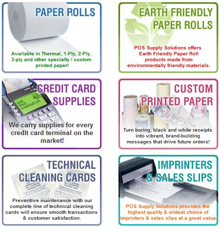 Merchant Supplies Powered by POS Supply Store