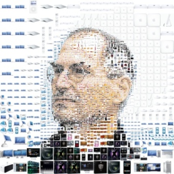 steve jobs apple composite
