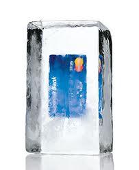frozen credit card processing account